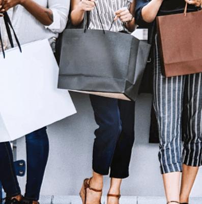 avoid holding shopping bags stop impulse spending