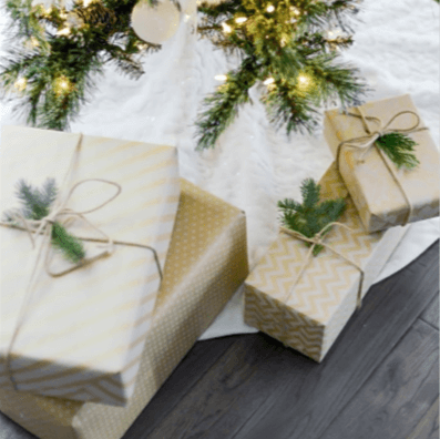 start a Christmas Savings Plan now for next year's presents